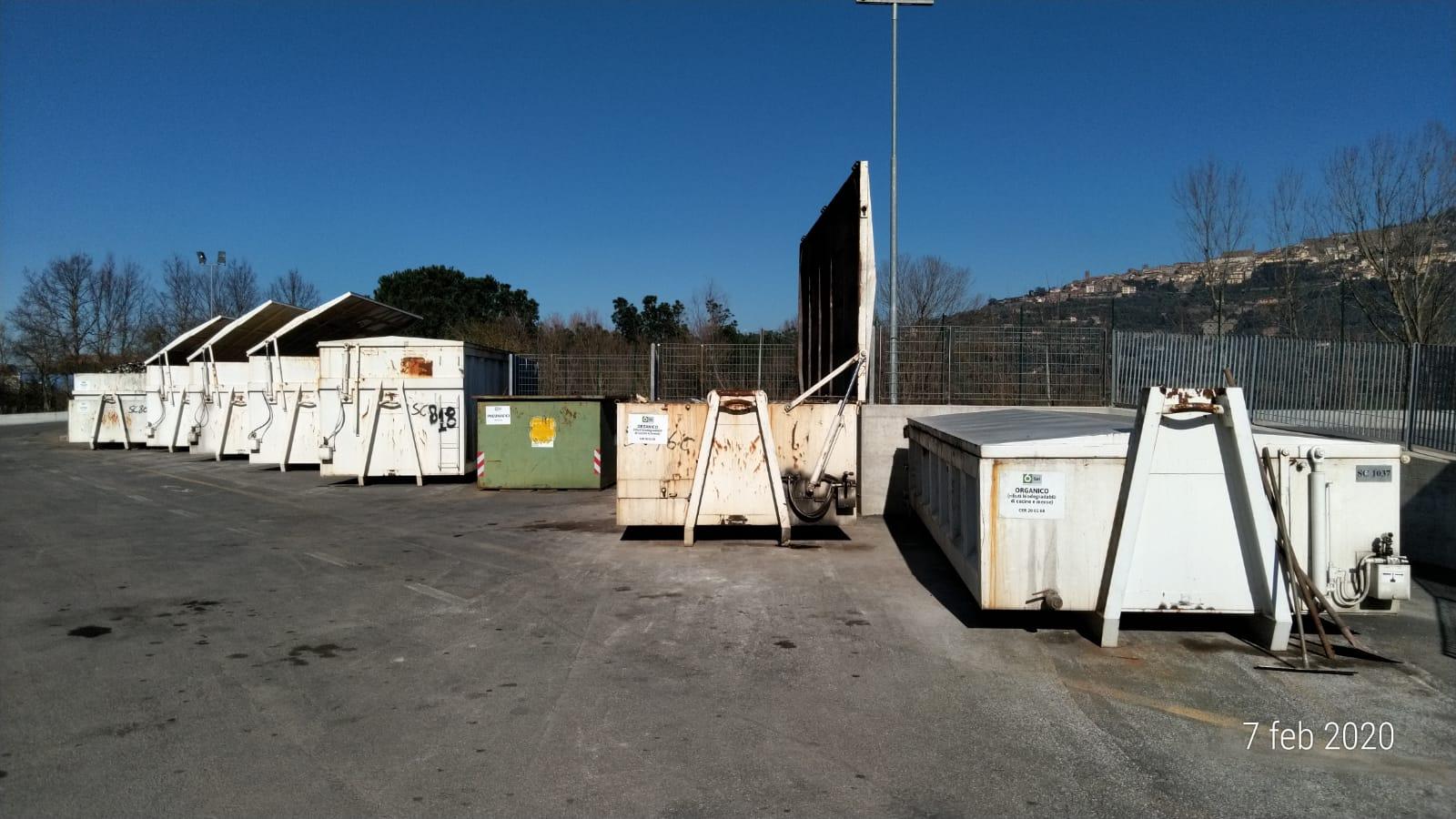 Centro raccolta rifiuti, accessi in aumento anche a Febbraio