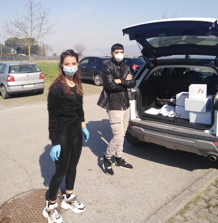 L'associazione Amici di Vada dona disinfettante all'ospedale della Fratta