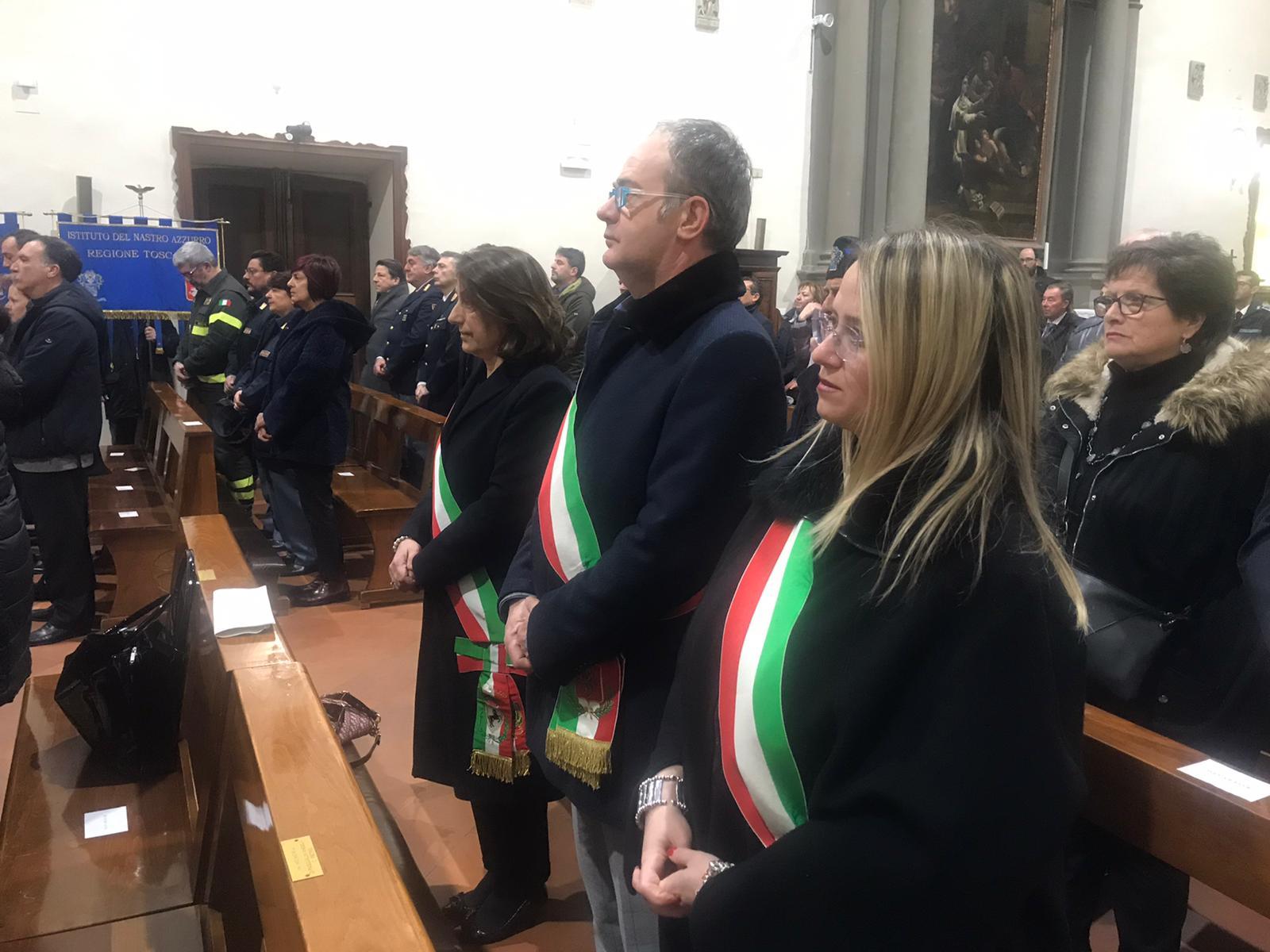 Cortona alla cerimonia in ricordo di Emanuele Petri