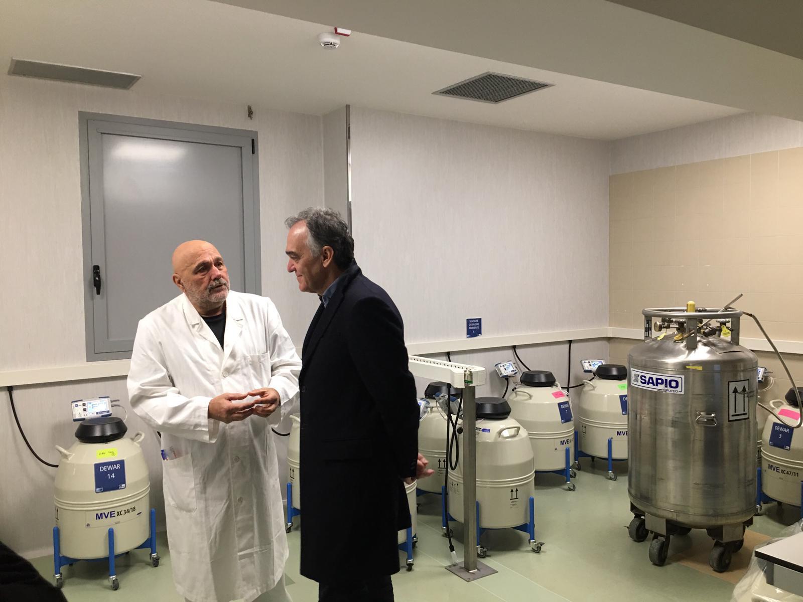 Inaugurati i nuovi locali degli ambulatori di chirurgia ginecologica della Fratta
