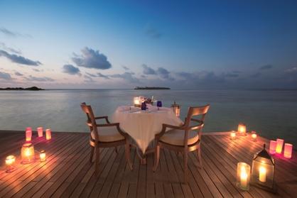 #iorestoacasa e ammiro il tramonto alle Maldive