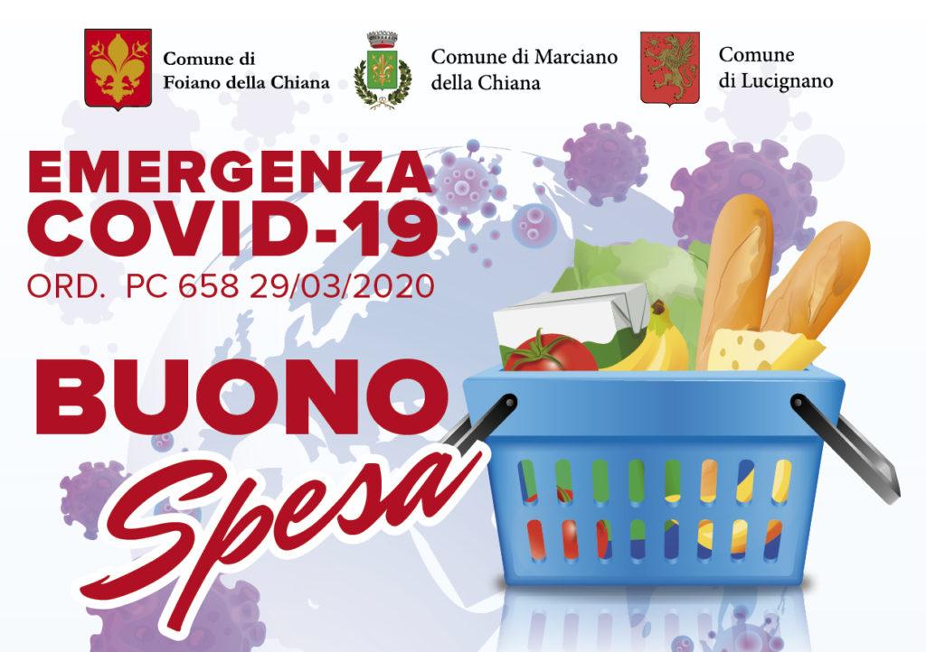 Solidarietà alimentare nei Comuni di Lucignano, Foiano e Marciano
