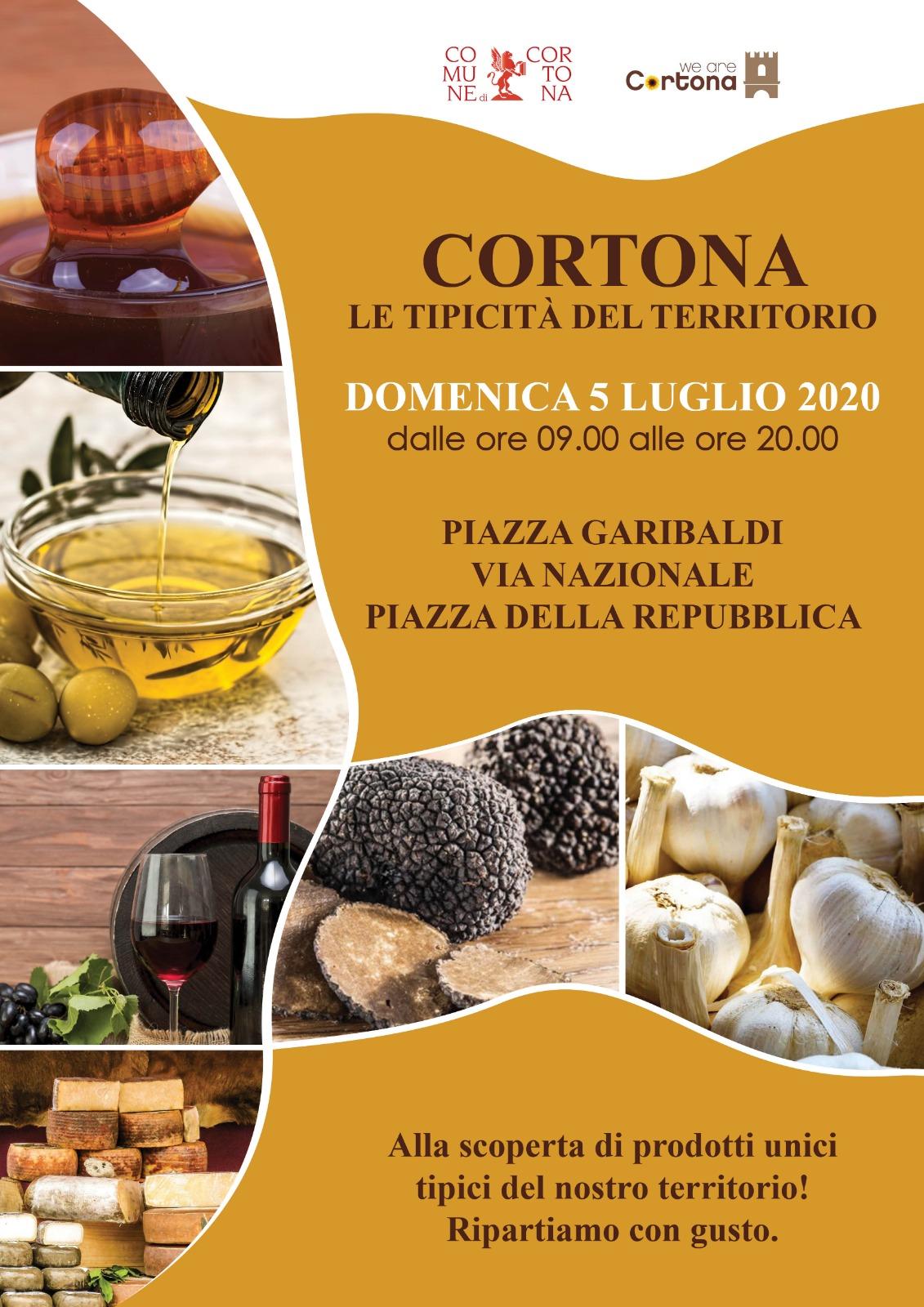 A Cortona la Mostra Mercato dei prodotti tipici