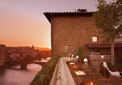 A Firenze sul uno dei rooftop più belli del mondo