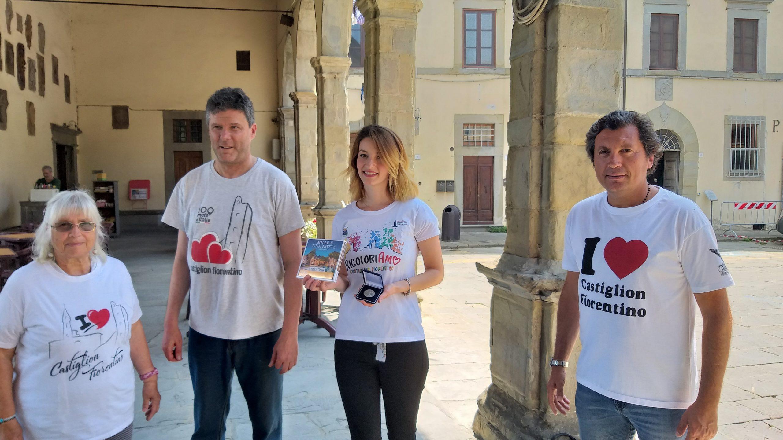 Laura Edy Cuseri vincitrice del concorso per la nuova t-shirt di Castiglion Fiorentino
