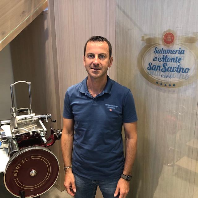 Alessandro Iacomoni e il nuovo look della Sansovino
