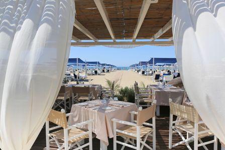 Il Dalmazia Beach Club a Forte dei Marmi