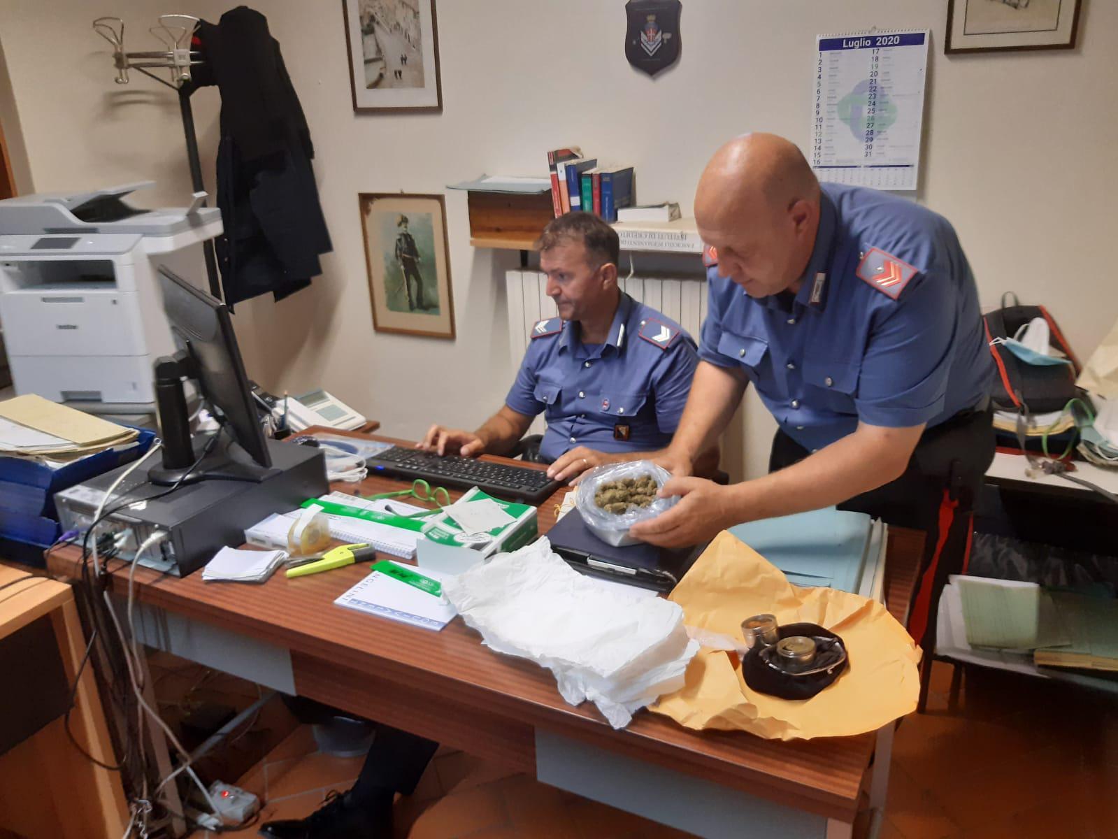 Carabinieri: 2 arresti e 11 denunce per spaccio
