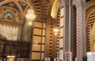 L'inaugurazione del restauro degli affreschi di Osvaldo Bignami nella Cappella dei Caduti di Santa Margherita