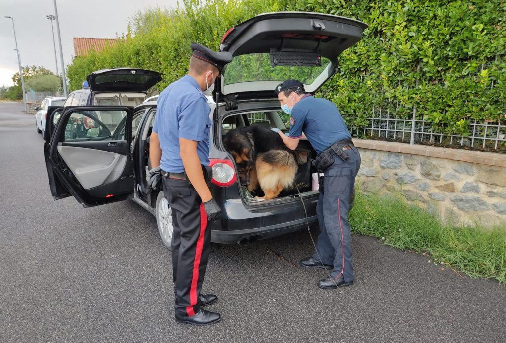 Da un controllo all'acquirente i Carabinieri risalgono allo spacciatore: arrestato