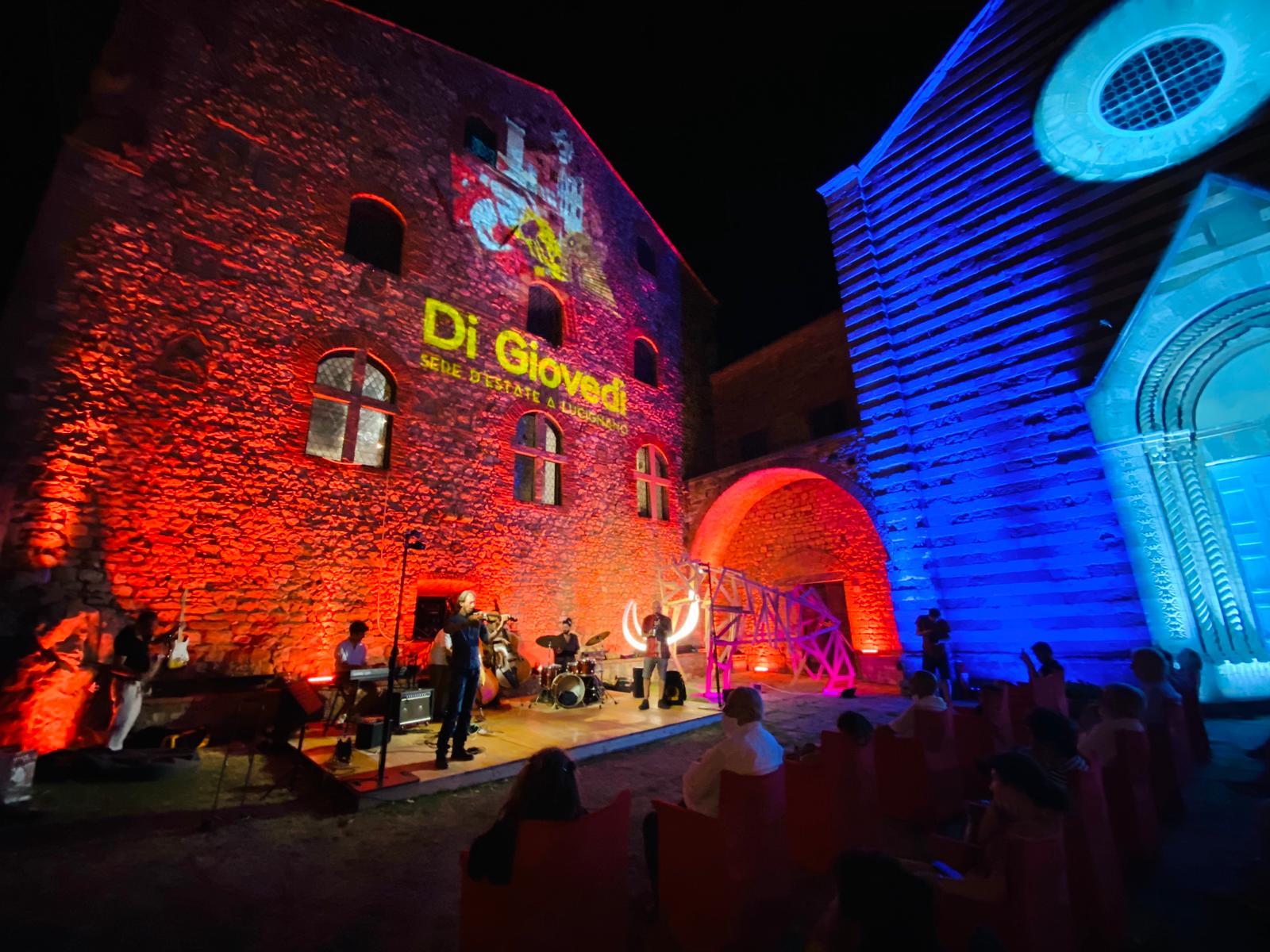 Notte magica a Lucignano con il Mammut Jazz Fest