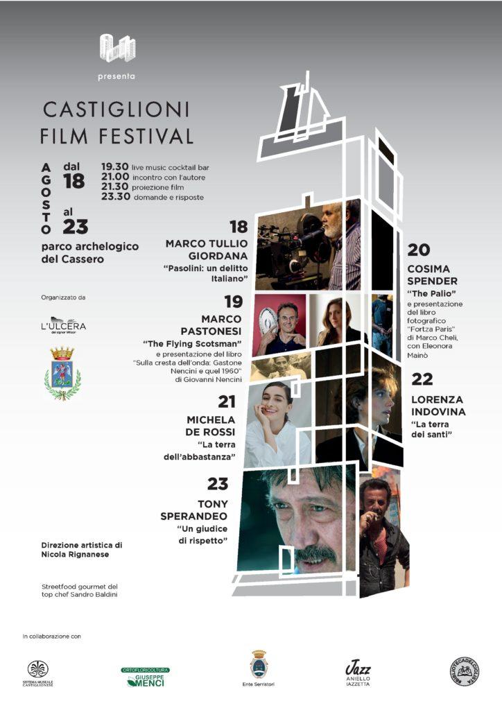 CIN, Castiglioni Film Festival, il programma