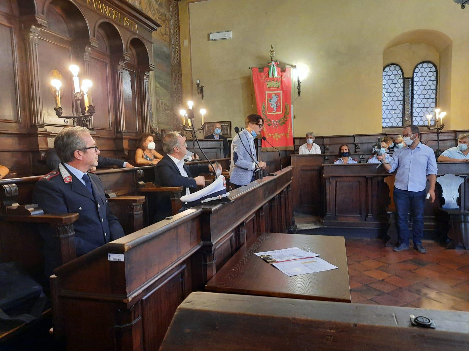 Mario Parigi nuovo Comandante della Polizia Municipale di Cortona