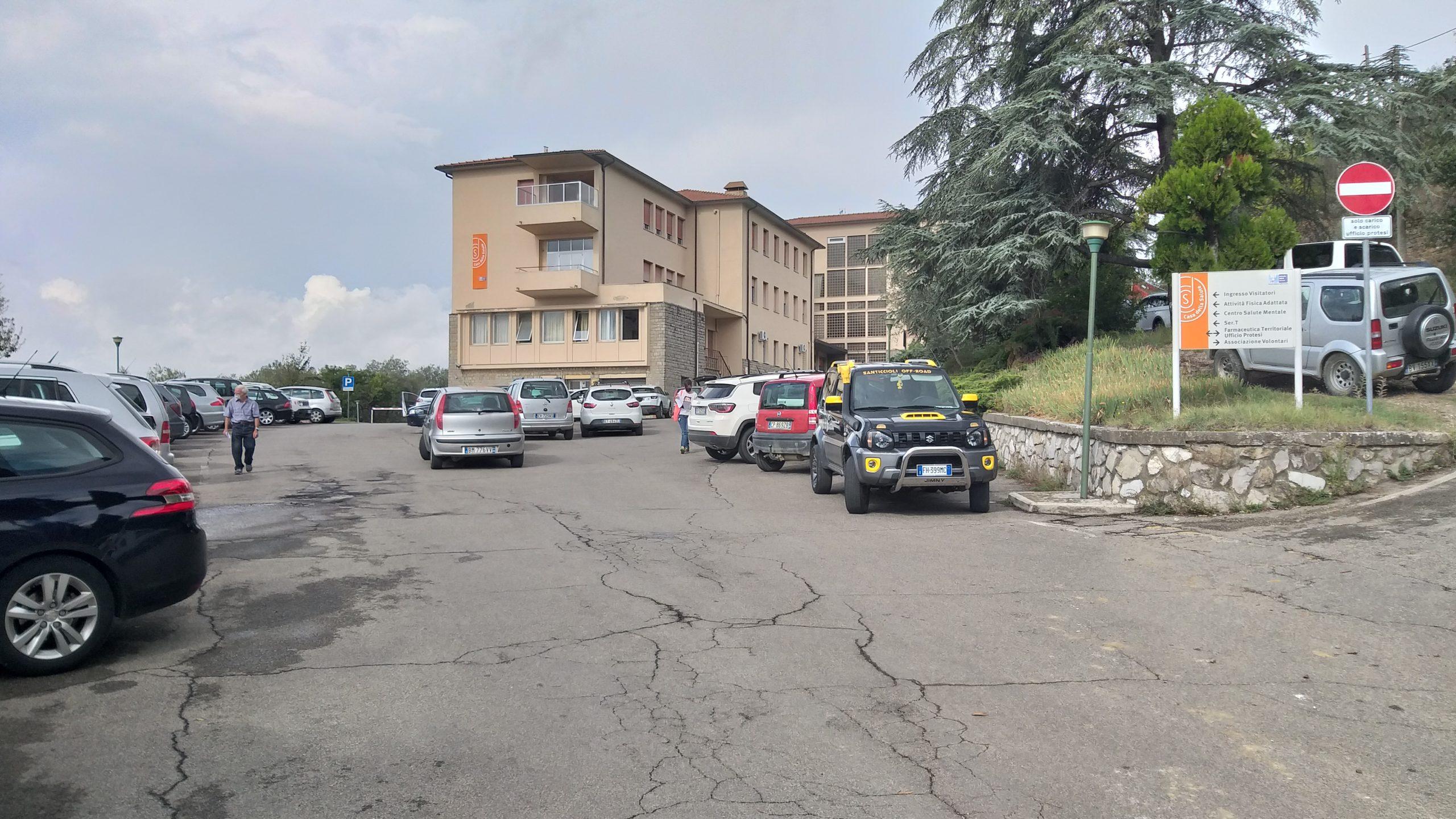 L'amministrazione comunale prende in gestione il parcheggio della Casa della Salute