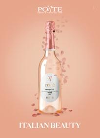 Prosecco doc Rosé Italian Beauty