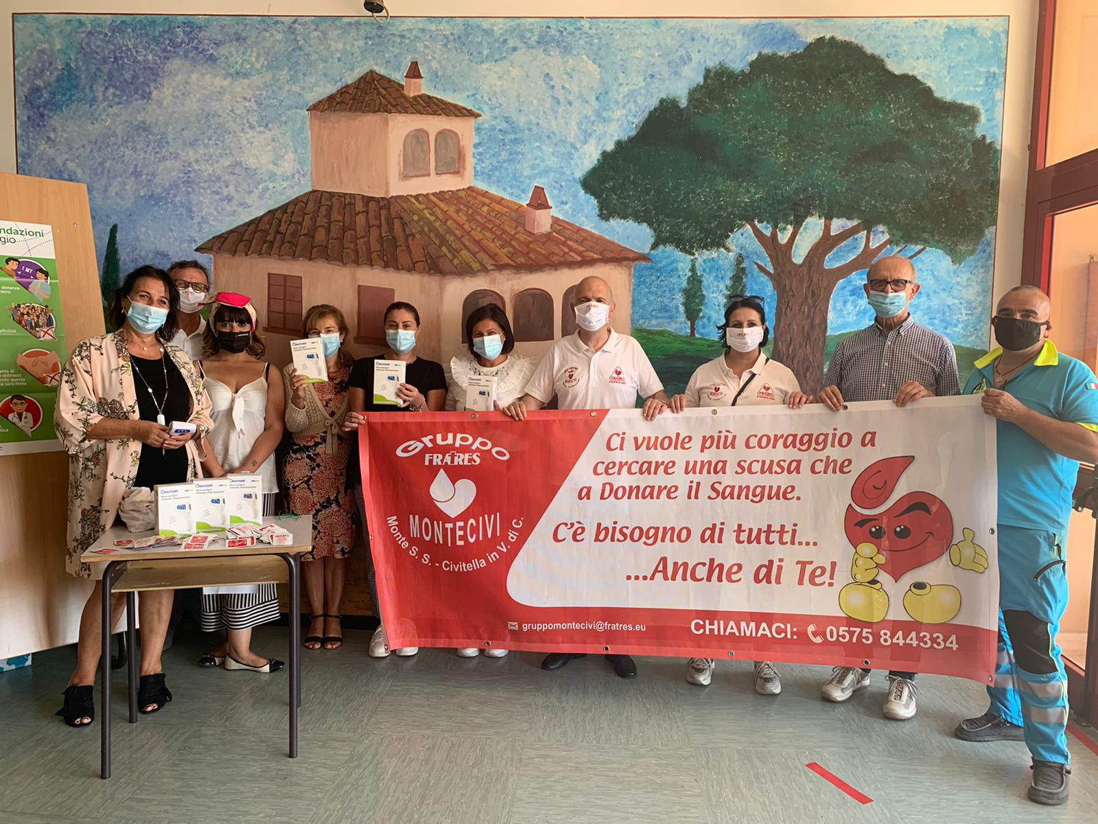 Fratres dona Termoscanner per le scuole savinesi