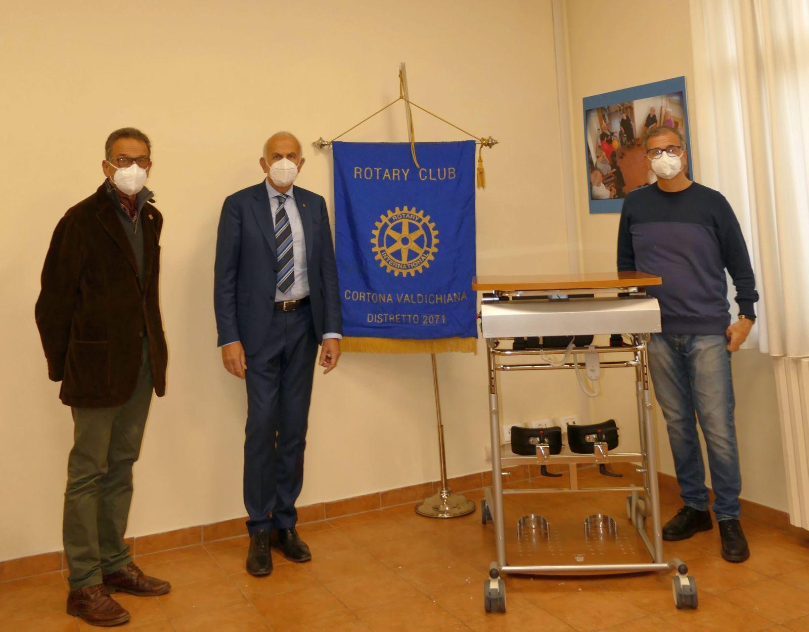 Il Rotary Club Cortona Valdichiana