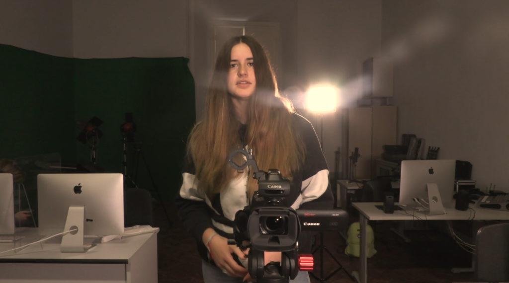 Il Liceo Artistico Signorelli continua con le attività laboratoriali e realizza il nuovo video-promozionale