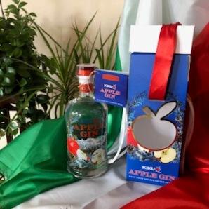 Italia nel bicchiere il nuovo KIKU Apple Gin