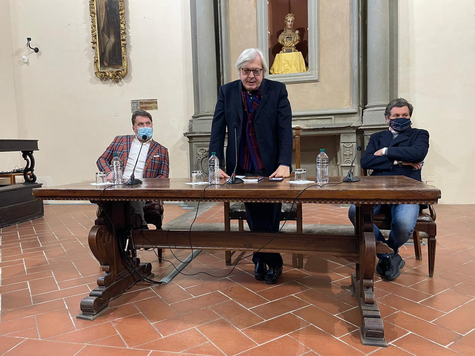 """Presentata la mostra d'arte contemporanea """"I Mille di Sgarbi"""""""