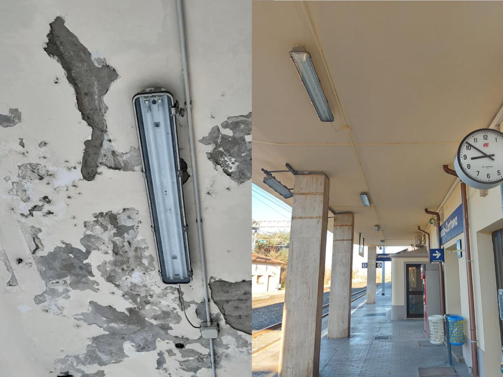 Richieste due fermate dei treni regionali per Firenze: il Comune scrive a Baccelli. Finalmente i primi lavori alla stazione di Camucia