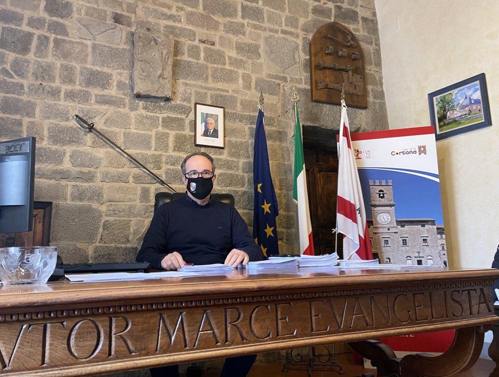 Cortona, Meoni stila il bilancio amministrativo del 2020