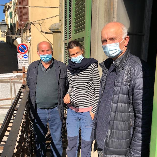 Monte San Savino: la ringhiera di Via Roma torna all'antico splendore