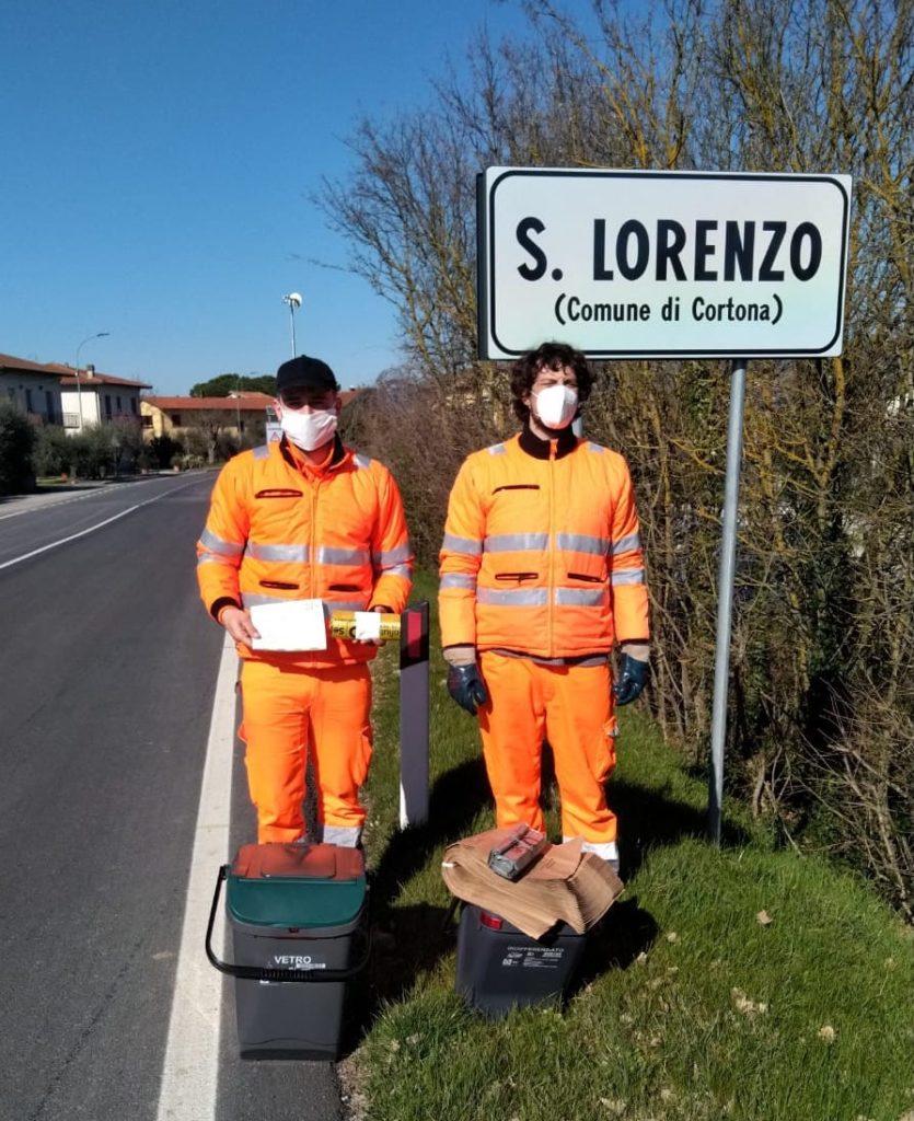 Il porta a porta si estende a Centoia, Pietraia, San Lorenzo, Manzano, Borgonuovo e Cignano