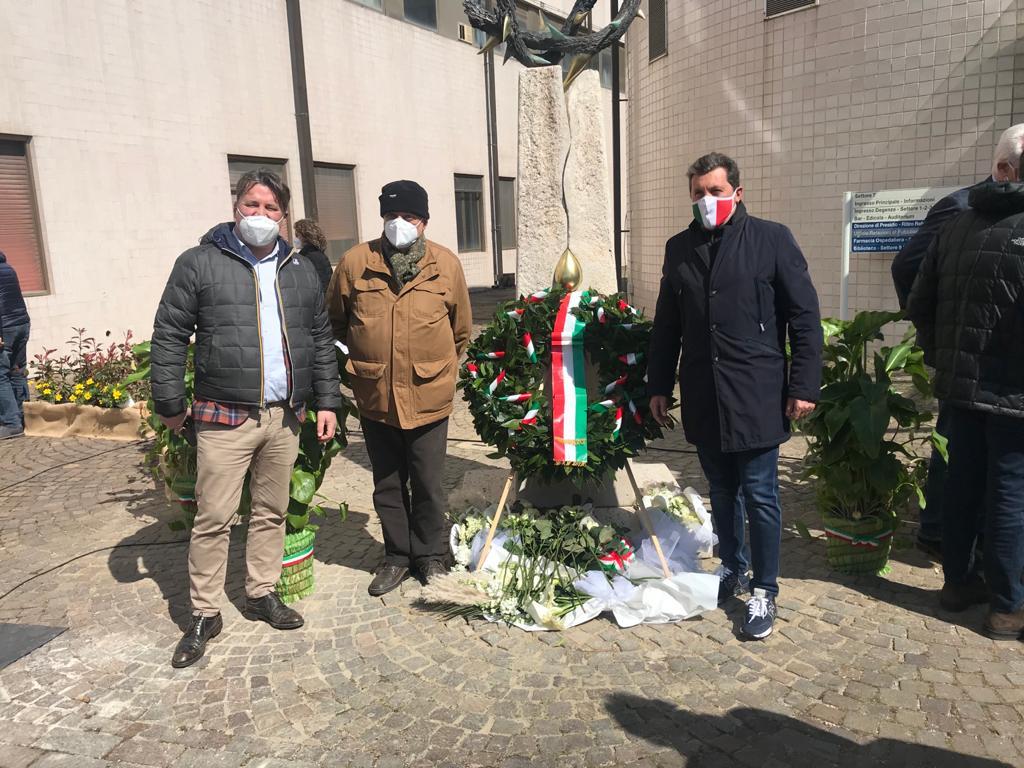 In memoria delle vittime del Covid, l'arte di Scatragli al San Donato