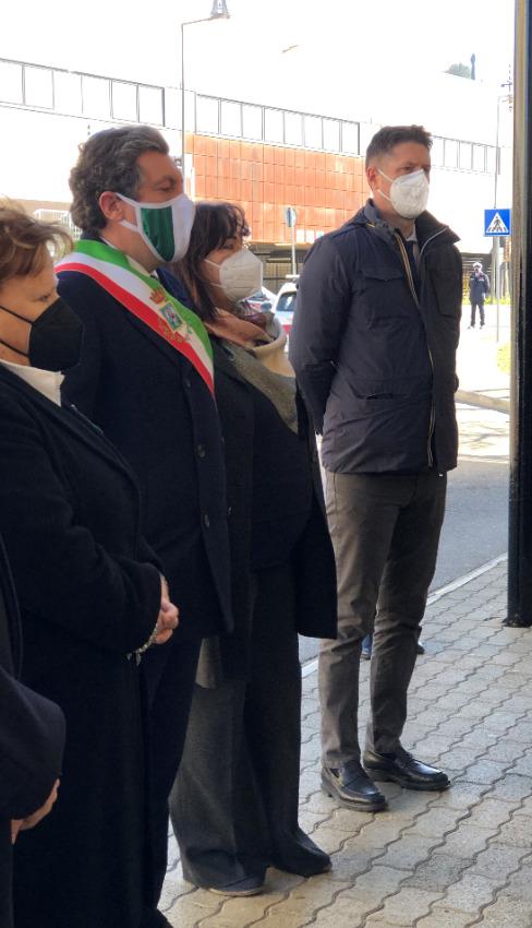 Anche il sottosegretario al Ministero dell'Interno Molteni alla cerimonia in memoria di Emanuele Petri