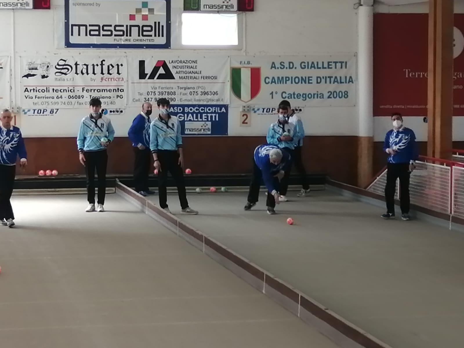 Bocce, serie A2: Cortona sconfitta a Torgiano