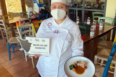 Denise Massarenti  miglior  Lady Chef della Toscana