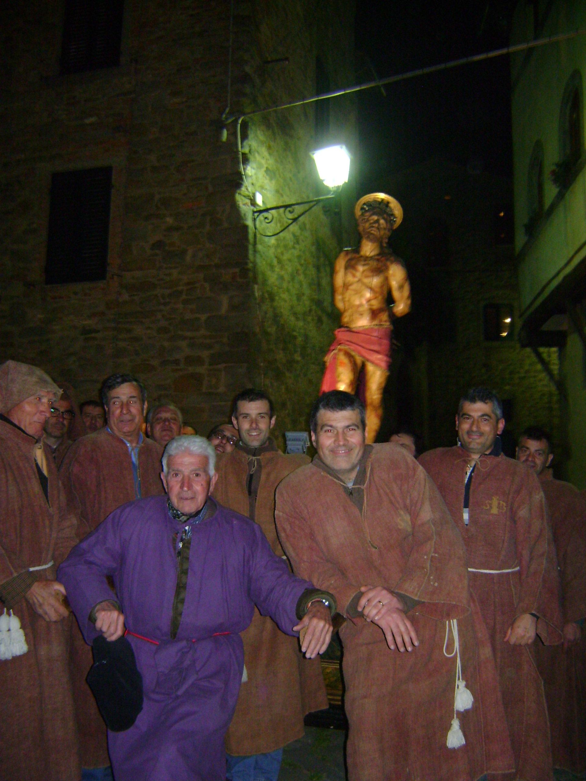 Il simulacro di Gesù flagellato a Cortona