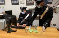 Un arresto dei Carabinieri per possesso di droga