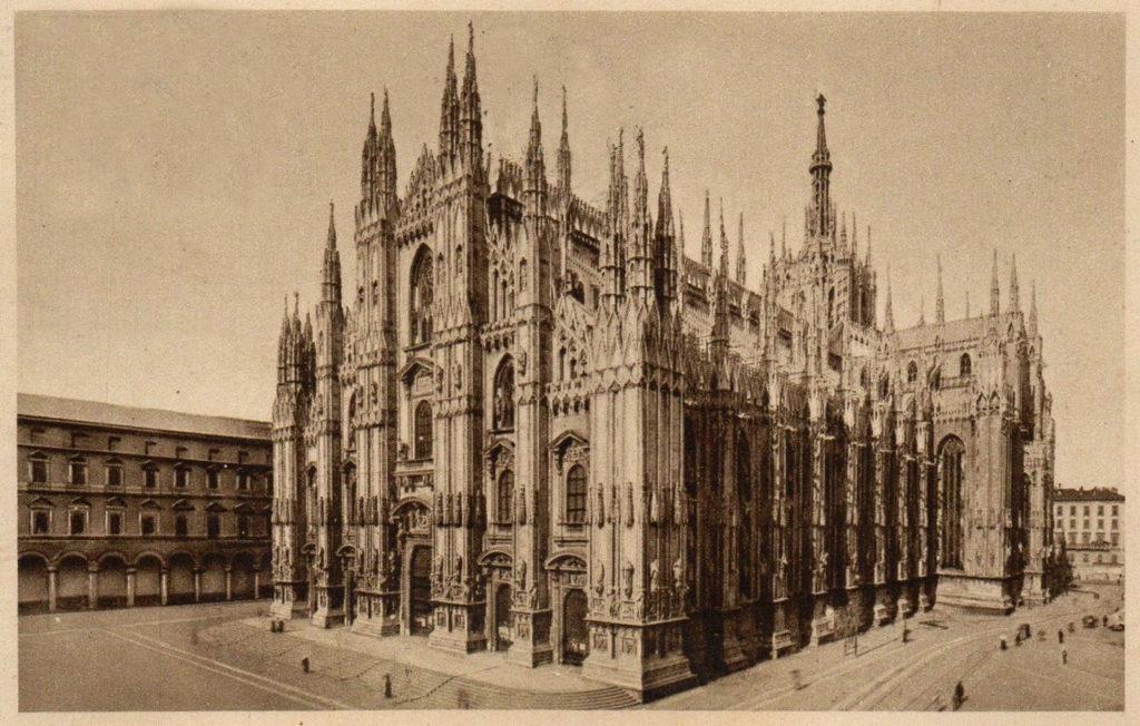 Santa Margherita sul tetto del Duomo di Milano