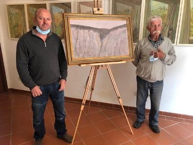 Il paesaggio toscano visto dai pittori  Borella e Coradeschi