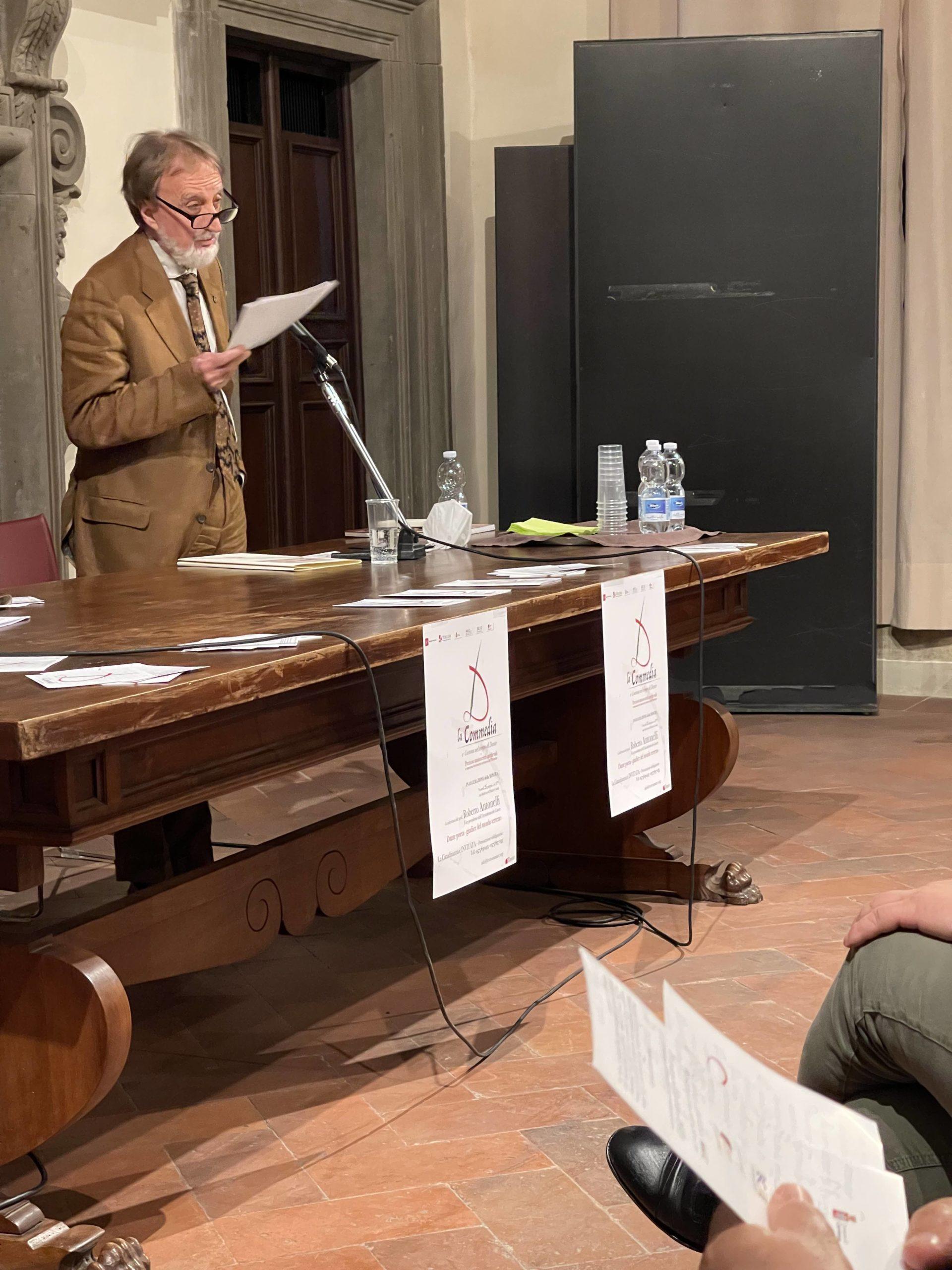 La Commedia e Cortona nel tempo di Dante, Antonelli inaugura la mostra