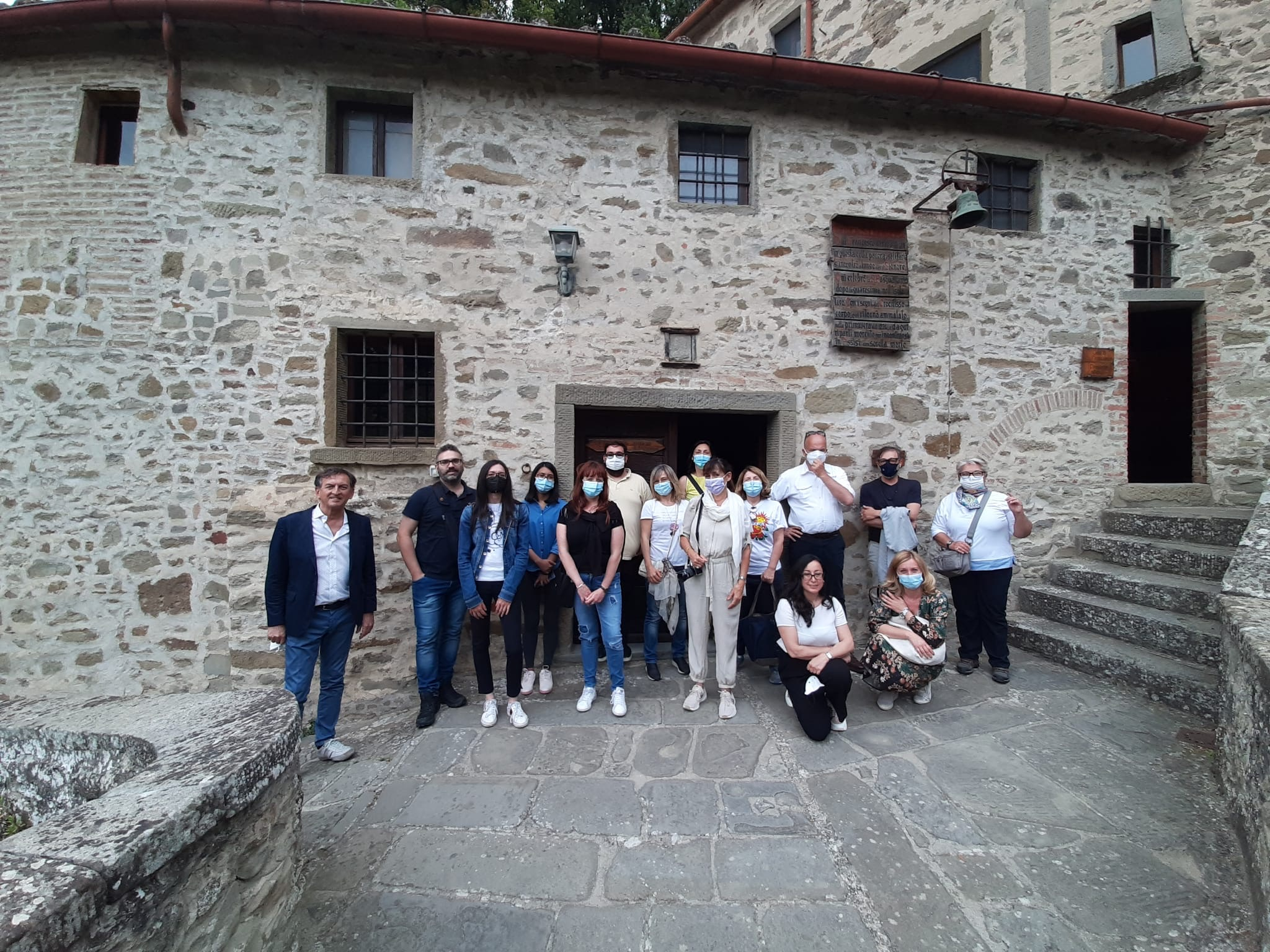 Tour operator e giornalisti di viaggio in visita a Cortona. Successo per il primo «educational» dopo il confinamento