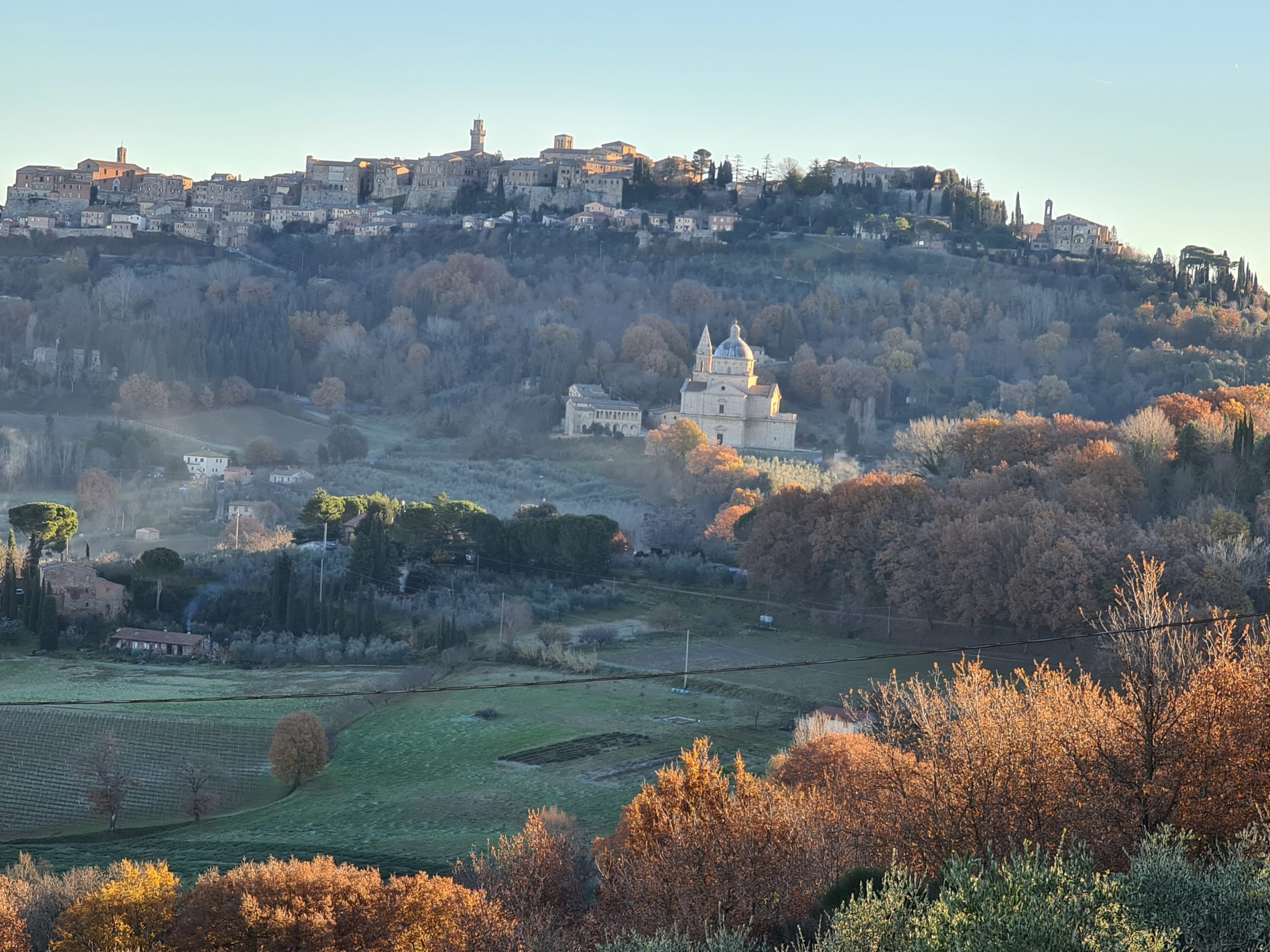 Le colline di Pienza e Montepulciano riconosciute Paesaggio Storico