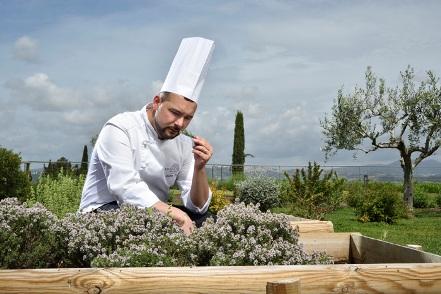 Elementi Fine Dining a Borgobrufa Spa Resort
