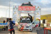 Il pilota chianino Davide Bartolini  al 14° Rally delle Marche