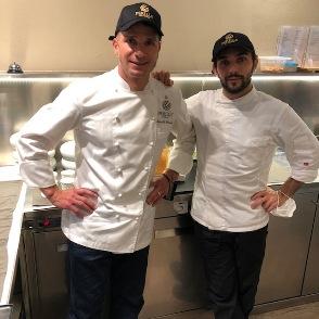 Marcello Corrado chef del Perillà di Castiglione d'Orcia