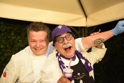 Il Maestro di gelato Sergio Dondoli al Dolomiti Gourmet Festival